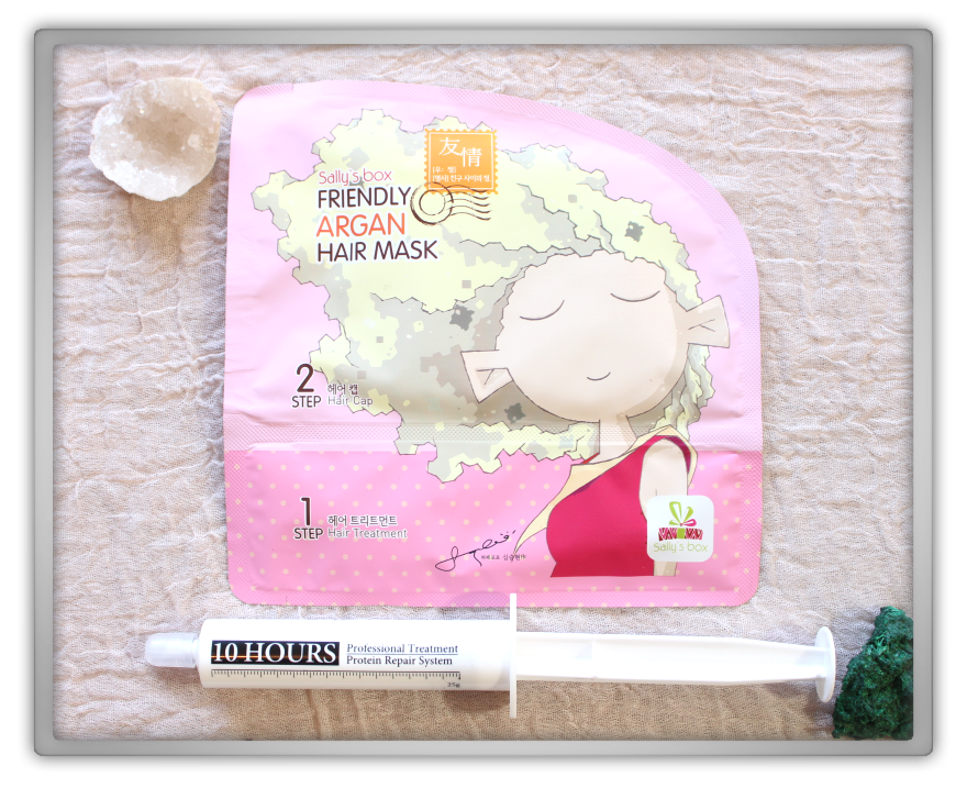 겟잇뷰티박스 by 미미박스 memebox Princess Edition #3 Rapunzel unboxing review sally's box mask tosowoong 10 hours