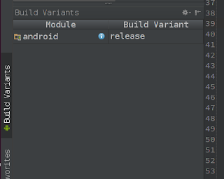 Android Sudio - Build Variants