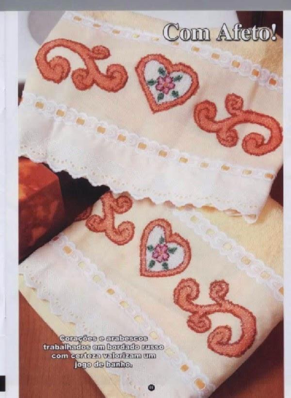 Aparador Para Sala Pequena ~ Artesanato com amor by Lu Guimar u00e3es Revista Bordado Russo n u00
