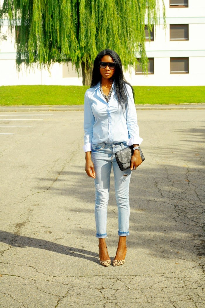 Chic Jeans Styles By Assitan Blog Mode French Style Blogger