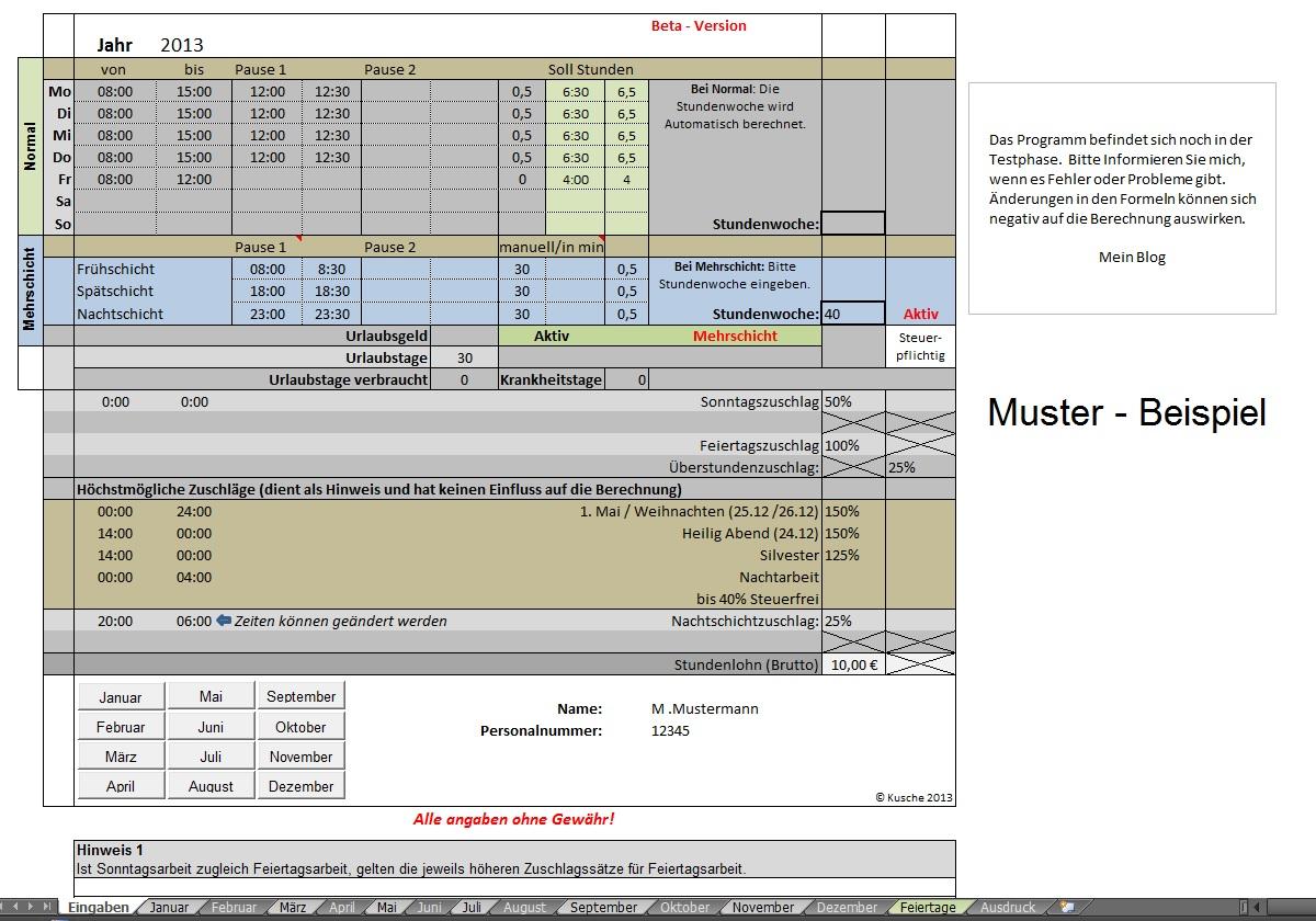 Lohn Berechnen : blickwinkel178 lohn zuschl ge berechnen ~ Themetempest.com Abrechnung