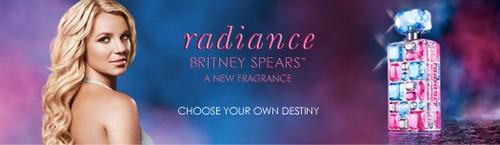 Amostra Gratis Perfume Radiance da Britney Spears