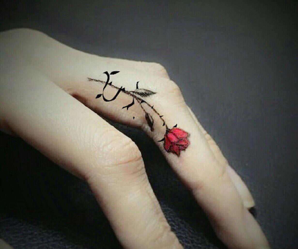 Эскизы тату на палец для девушек фото