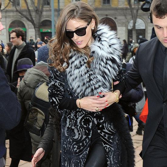 The Olivia Palermo Lookbook : MFW 2013: Olivia Palermo at ...