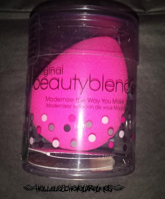 Packaging du Beauty Blender Hellolescheveuxrouges