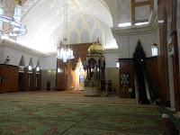 Inside Sultan Omar Ali Saifuddien Mosque