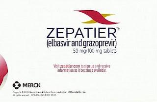 Zepatier,Ribavirin , elbasvir ,grazoprevir,HCV,FDA ,فيروس,سي,
