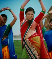 Lakshmi Menon Hot Navel show stills 2