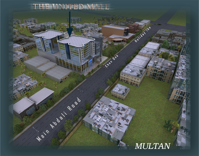 United Mall Abdali Road Multan Is A Modern Shopping Opened Just Near To Cheone Tower Of