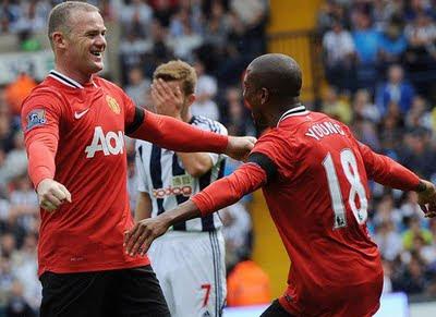 Manchetsre United vs West Brom Barclays Premier League