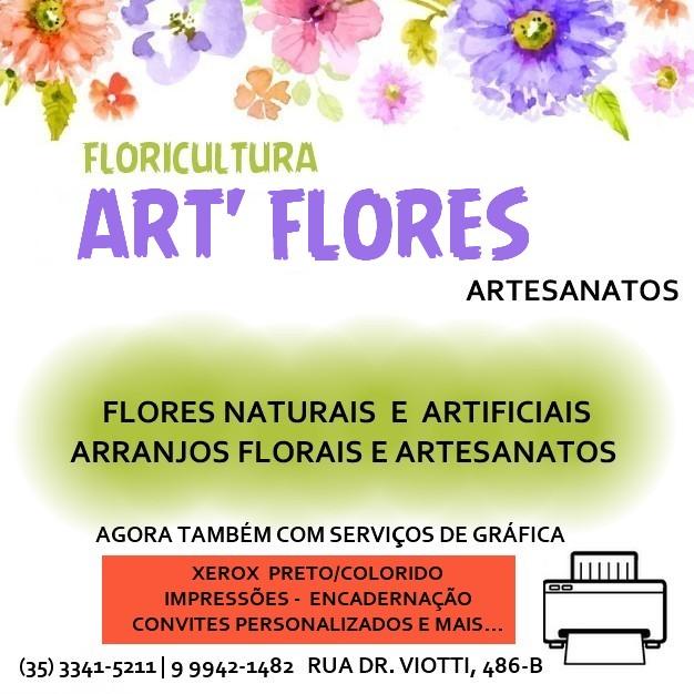 GRANDES NOVIDADES É NA FLORICULTURA ART'FLORES EM CAXAMBU