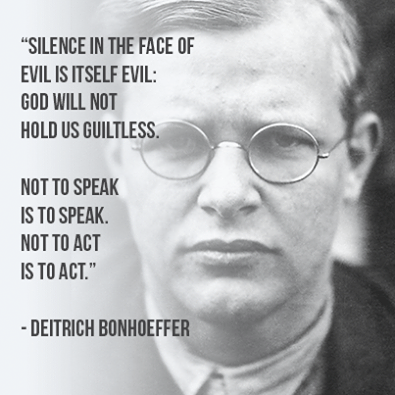 Never Fail To Speak Out Against Injustice