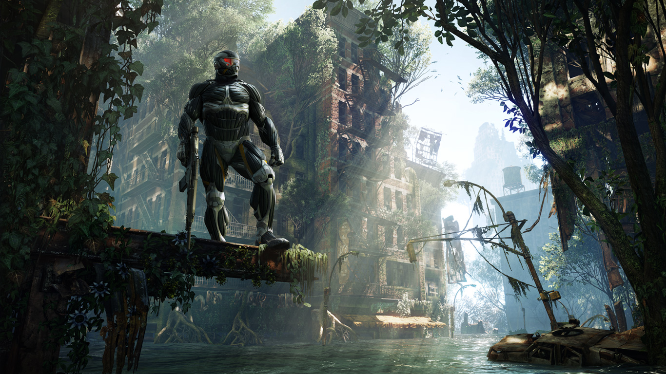 gamingeneration crysis 3 1366x768 hd wallpapers