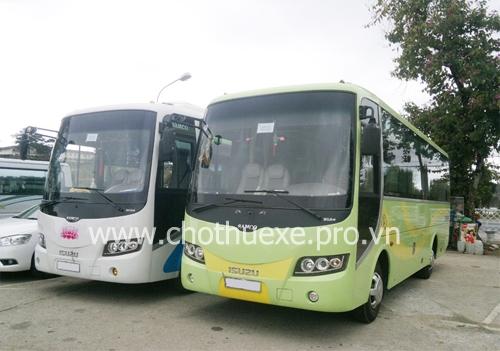 Cho thuê xe ở tại Hưng Yên