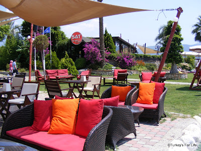Bar Area, Şat Beach Club, Calis Beach