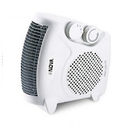 Flipkart : Buy Nova NH-1257 All-in-One Blower Silent Fan Room Heater at Rs. 1,199: BuyToEarn