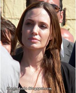 Angelina Jolie Tanpa Mekap