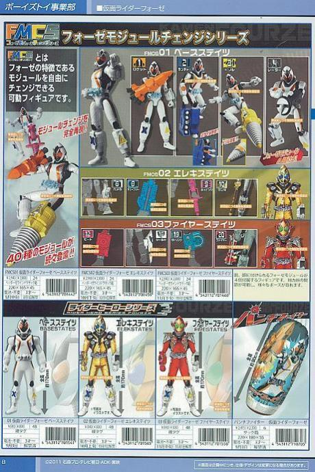 Fourze Module Change Series