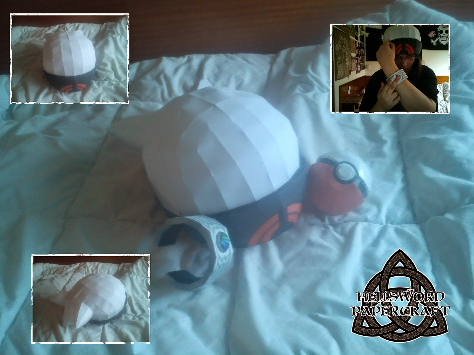 Pokemon ORAS Papercraft Brendan's Hat