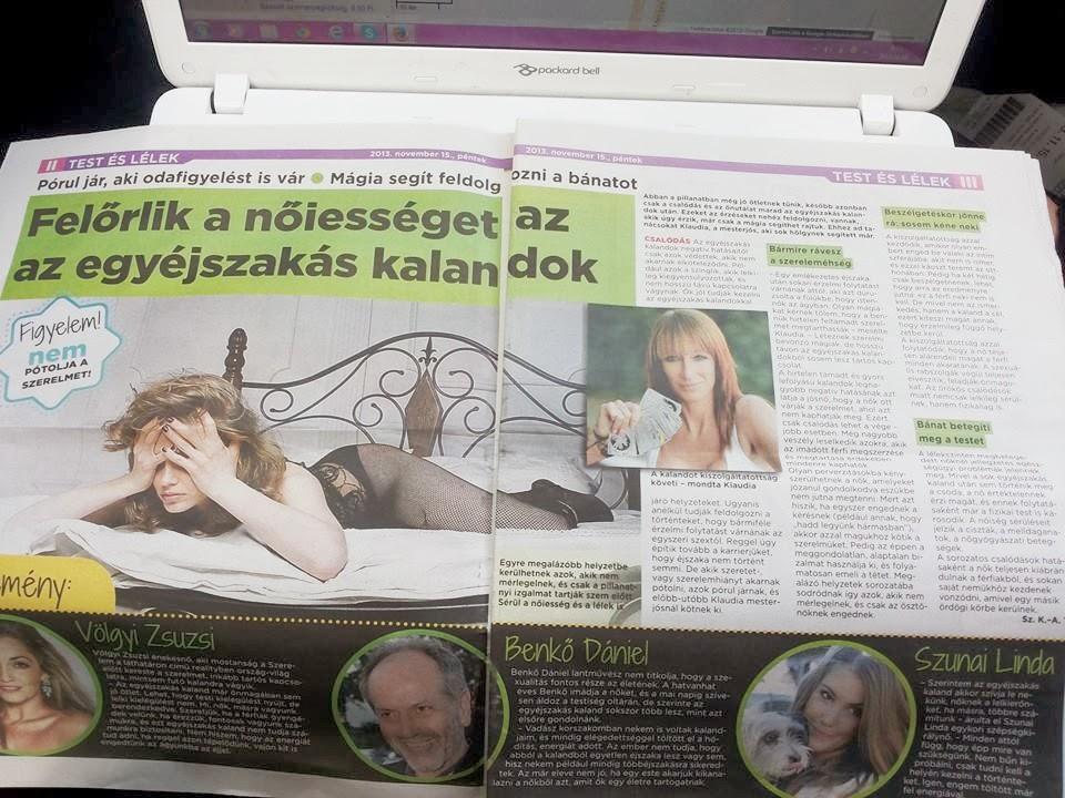 Bors újság Ezoterikus Melléklet 2013.11.16.