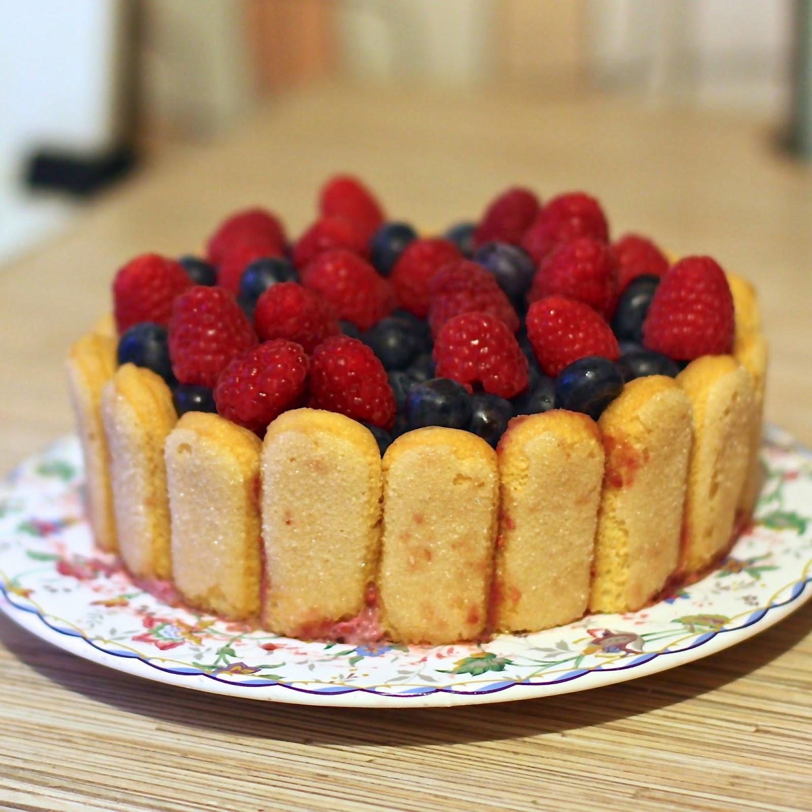 Как сделать малиновый торт летний в моей кофейне 567