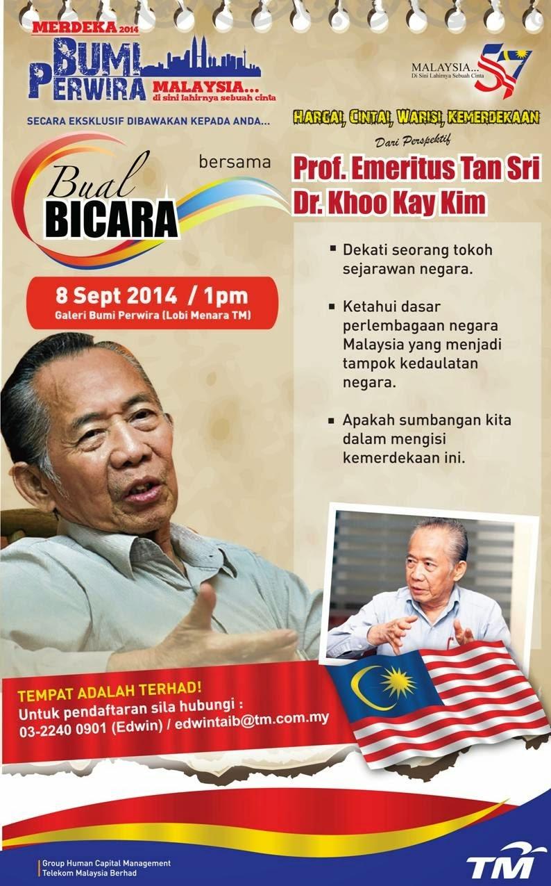 Bual Bicara Bersama Prof. Emeritus Tan Sri Dr.Khoo Kay Kim