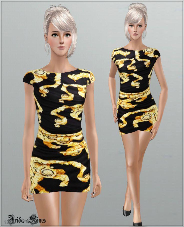 irida sims versace dress 2