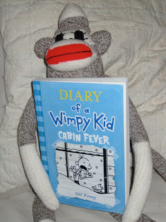 Librarianism chronicles cabin fever sixth in the wimpy for Diary of a wimpy kid crafts