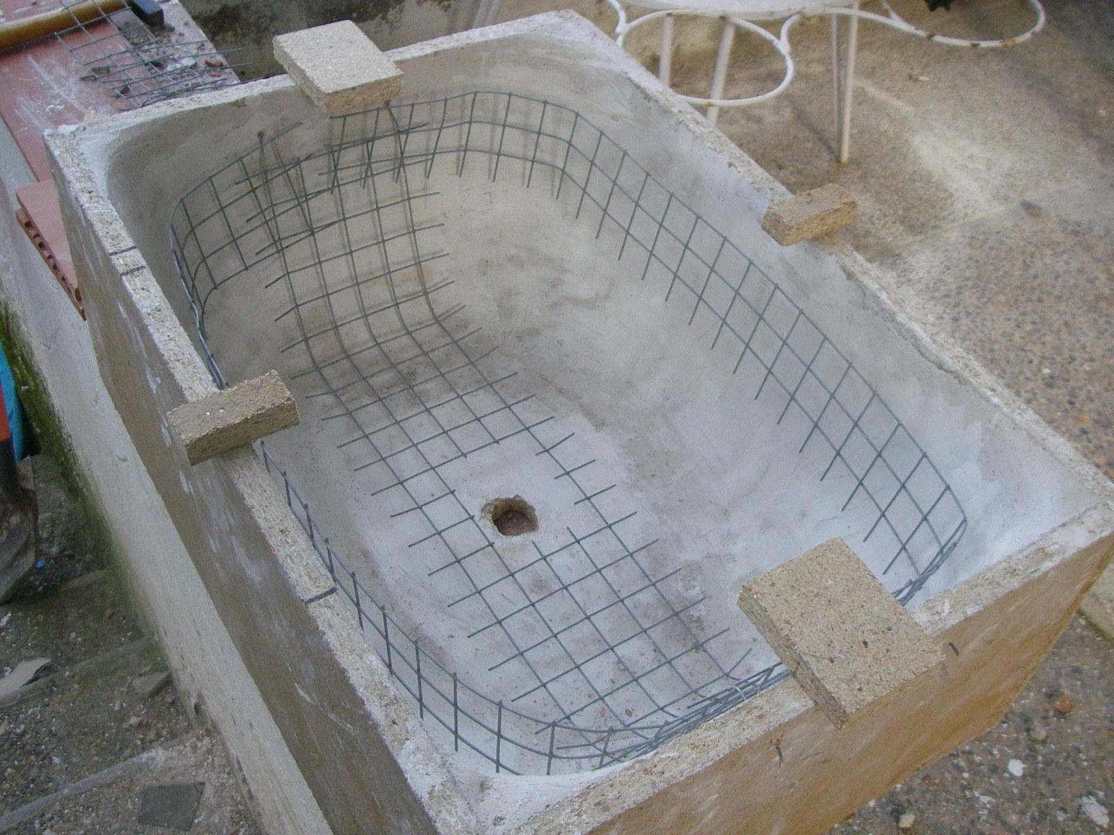 Pica lavabo cemento objetos for Pica lavabo