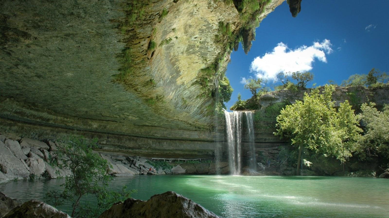 Beautiful Waterfall Nature