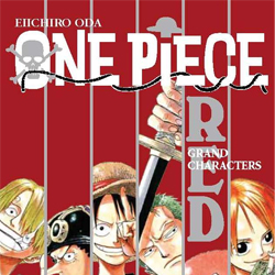 One Piece Guía nº01 Red: Grand Characters