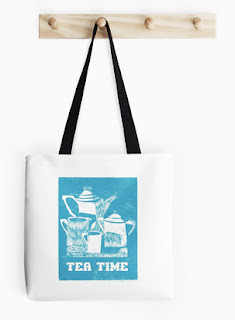 Tea Time Tote Bag / by TsipiLevin