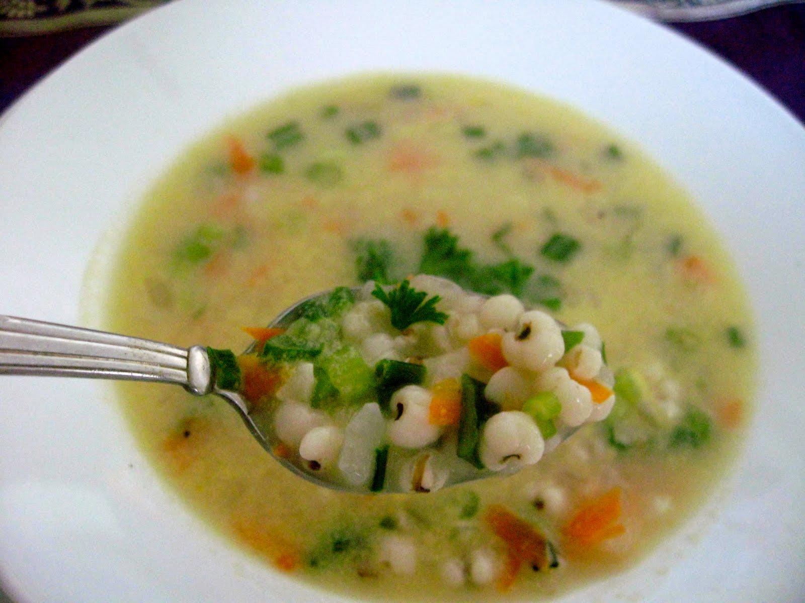 pearl barley soup persian style ash e jow sugar baking blog