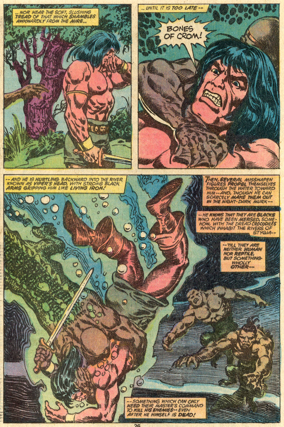Conan the Barbarian (1970) Issue #83 #95 - English 17