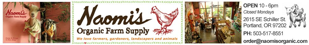 Naomi&#39;s Organic Farm Supply
