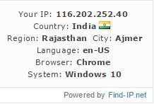 IP Widget Script