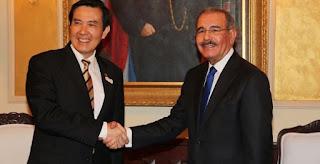 Medina recibe al presidente de Taiwán, quien realiza visita oficial
