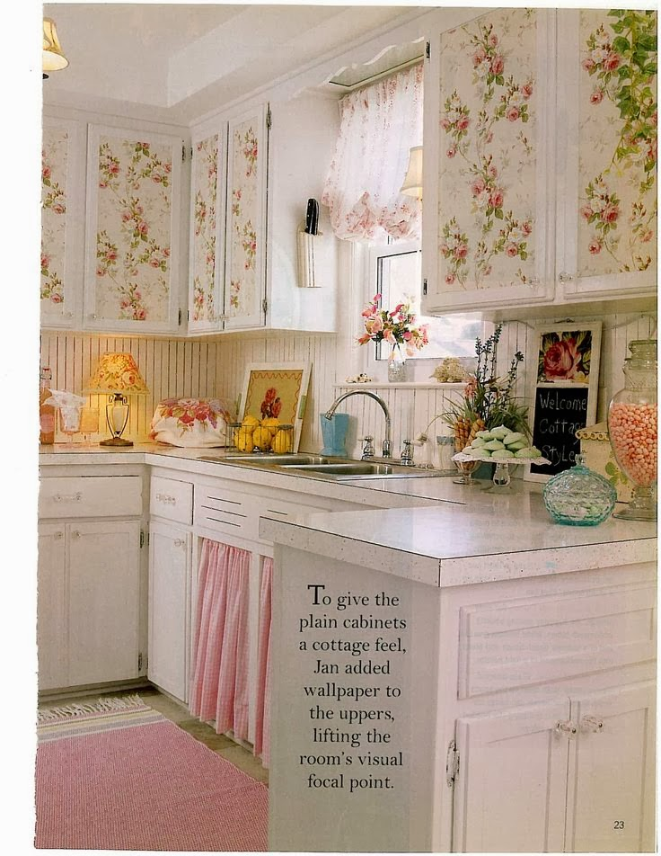 Eye for design decorating vintage cottage style interiors - Decoration de cuisine ...