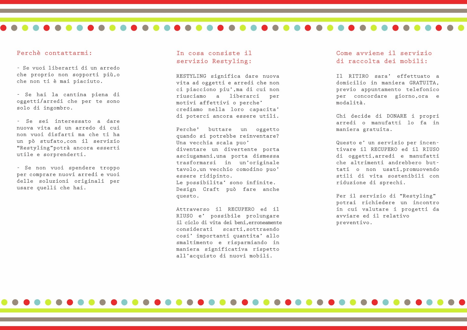 Design craft recupero riuso by design craft for Piattaia design