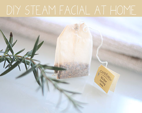 How to Steam Your Face at Home