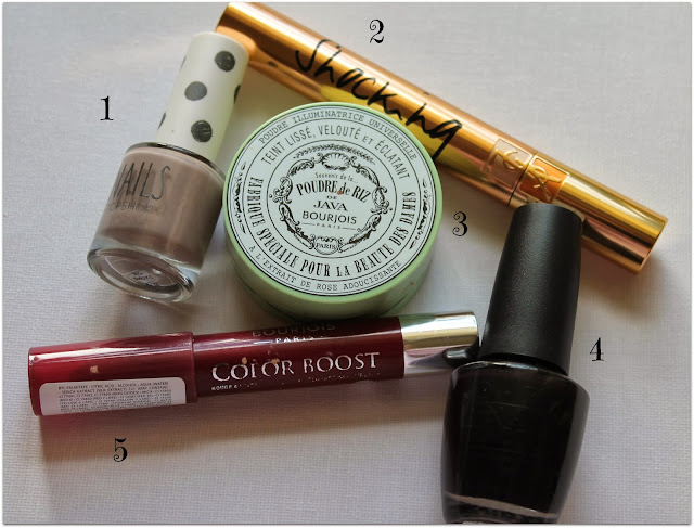 October make up favourites
