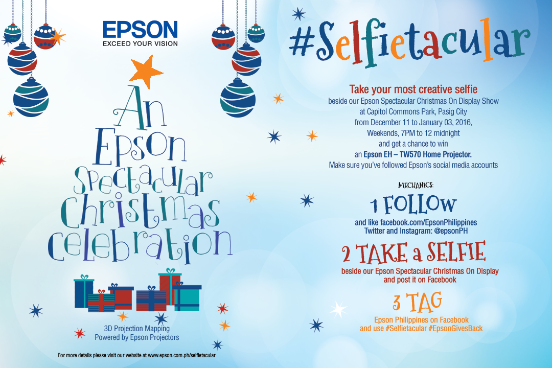 Epson Selfietacular Contest
