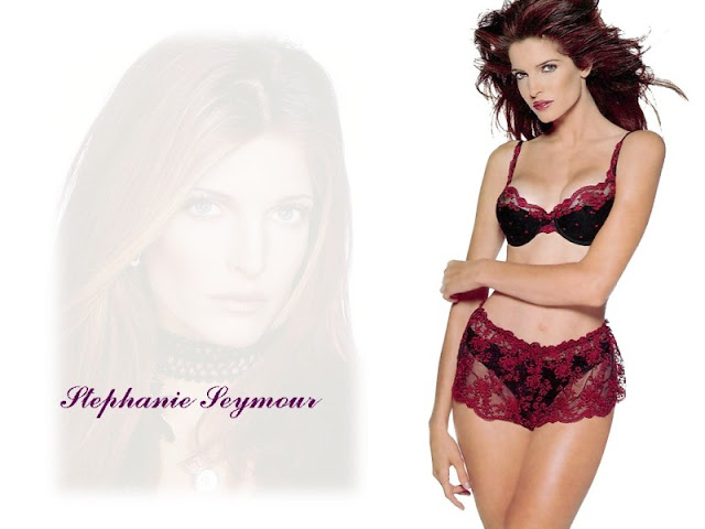 Stephanie Seymour in Lingerie