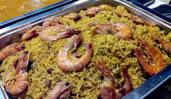 Shrimp Biryani, Curry Express Indian Restaurant, Davao City