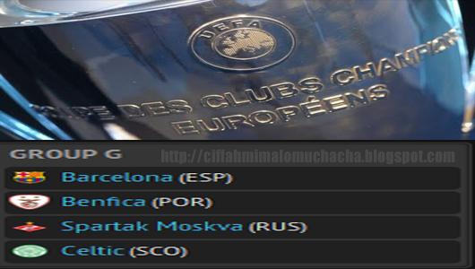 Liga Juara-Juara Eropah Kumpulan G