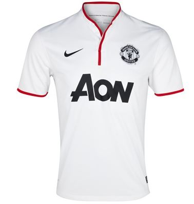  Manchester United 2012-2013 visitante - Away Kit 2012-2013 Manchester