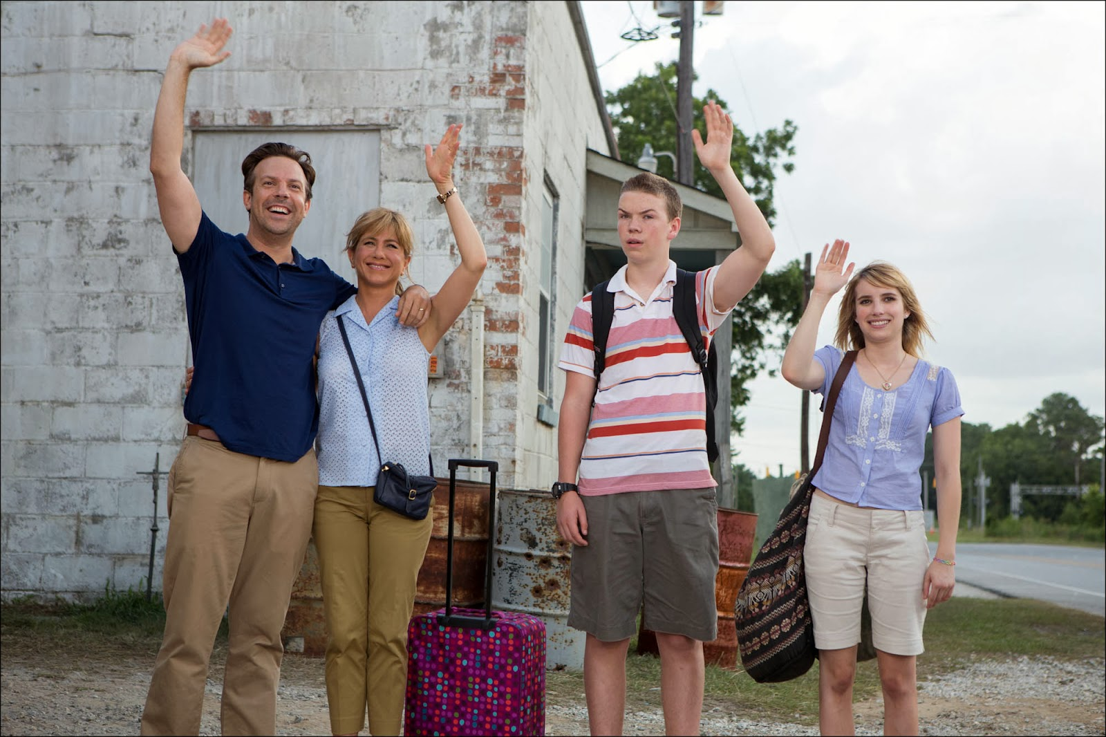 Family photo from We're the Millers.