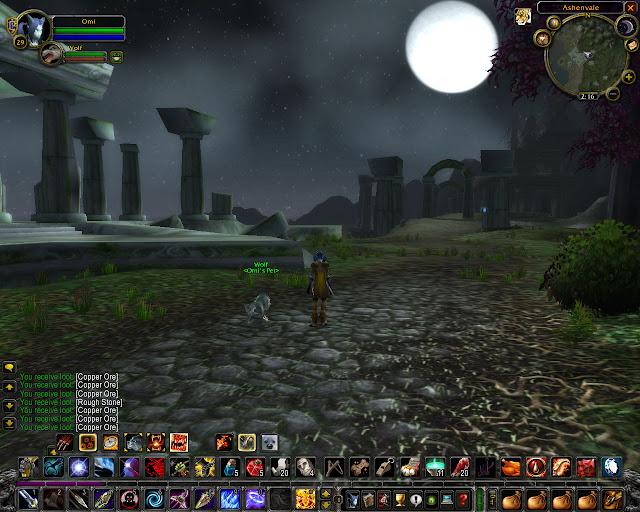 World of Warcraft - Ashenvale Screenshot