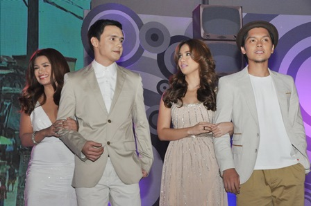 Denise Laurel, Patrick Garcia, Kaye Abad and Carlo Aquino