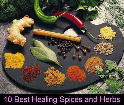 Best Healing Spices